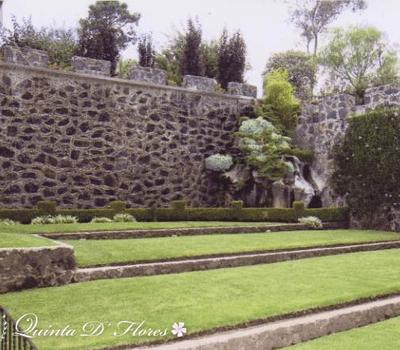 Hacienda y jardines para celebración de bodas en México - Foto Quinta de Flores