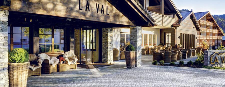 Beispiel: Aussenansicht, Foto: Hotel LA VAL.