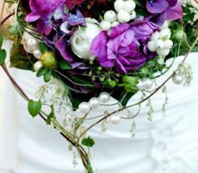 Beispiel: Brautstrauß, Foto: Die Blume.