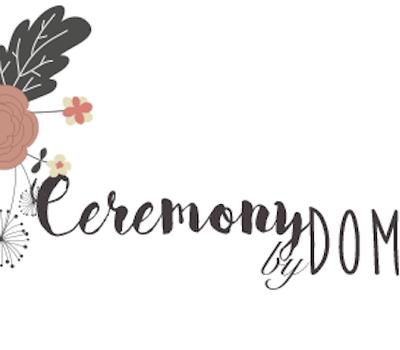 Logo de Ceremony by Domie, votre officiante