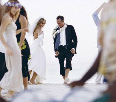 Beispiel: Ihre Hochzeit im Paradies, Foto: Kuoni.