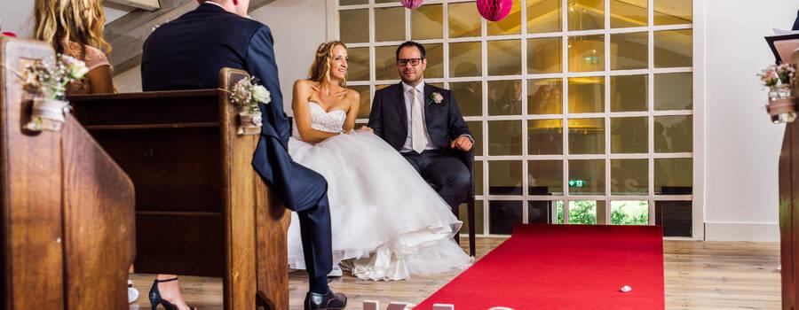 de trouwzaal