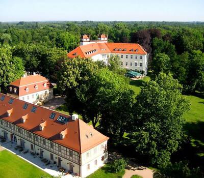Beispiel: Außenansicht - Vogelperspektive, Foto: Schloss Lübbenau.