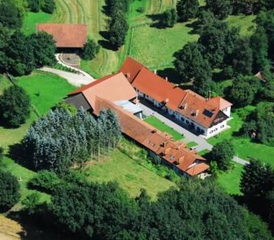 Beispiel: Luftaufnahme, Foto: Gut Grafenried.