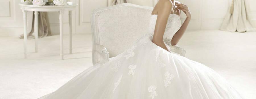 Beispiel: Brautmode, Foto: Brautline by Windisch Helga.