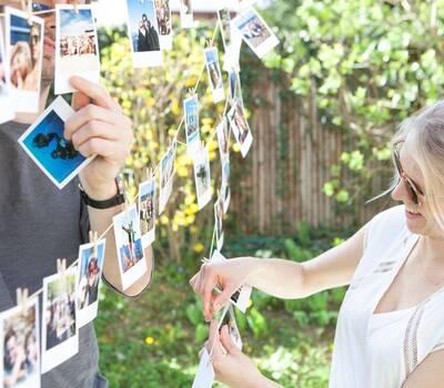 Cheerz - Décorer votre réception à partir de vos photos et celles de vos invités