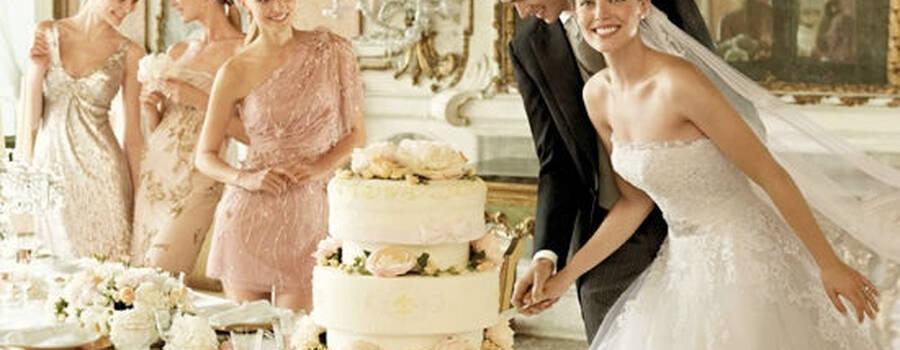 Beispiel: Einzigartige Brautmode, Foto: Wedding Center Wien.