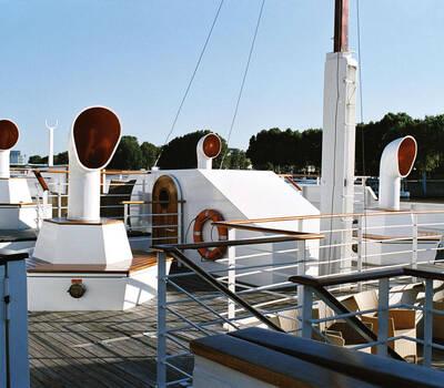 Le Paquebot - péniche navigante