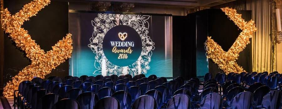Студия Maria German decor создала декор церемонии награждения свадебной премии Wedding Awards