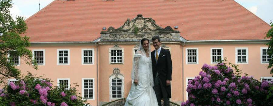 Stilvoll heiraten auf Schloss Reichstädt, Foto: Schloss Reichstädt
