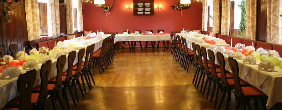 Beispiel: Festsaal, Foto: Restaurant Schottenhof.