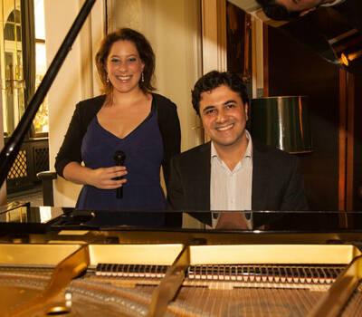 Beispiel: Sängerin Nataly Graf und Pianist Alexander Aviv, Voice & Piano.
