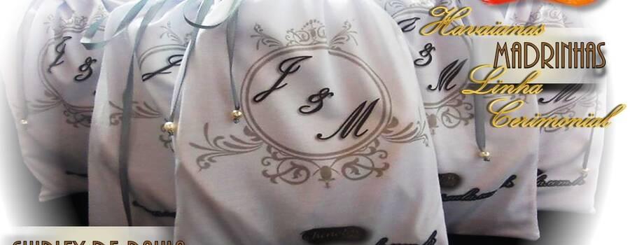 Embalagem personalizada para seu casamento