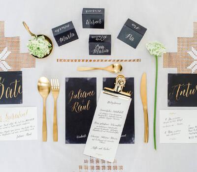 WeddingEve - Papeterieserie 'Manuscrit Amour' http://wedding-eve.de/designs/manuscrit-amour.html