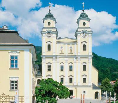 Beispiel: Schloss Mondsee, Foto: Romantik Hotel Schloss Mondsee.