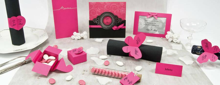 Beispiel: Hochzeitsset, Foto: einladungskarten4you.