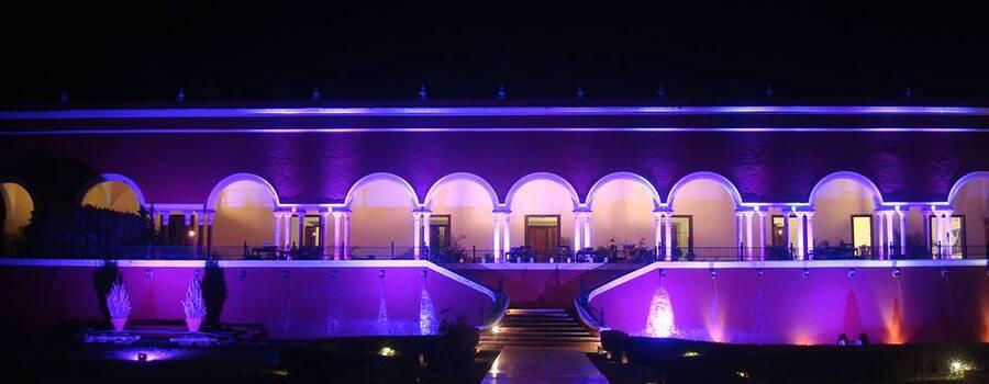 Iluminación de toda la locación del evento