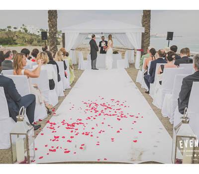 Mariage sur les plages d'Espagne