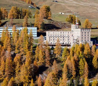Beispiel: Aussenansicht Hotel Castell, Foto: Hotel Castell.