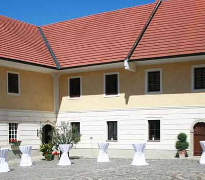 Beispiel: Außenansicht, Foto: Eventbauernhof Ganglbauergut.