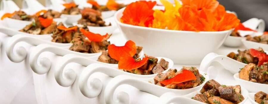 Beispiel: Kulinarisches, Foto: Rosenpalais Catering.