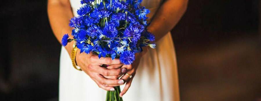 Beispiel: Brautstrauß nach individuellen Wünschen, Foto: Blumenbar.