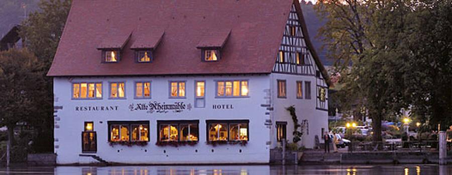 Beispiel: Hotel am Rhein Foto: Alte Rheinmühle.