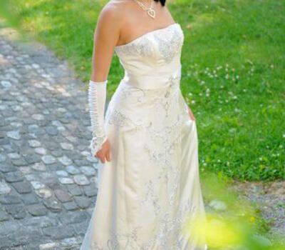 Beispiel: Ihr Traumkleid, Foto: Weddingdress.ch.