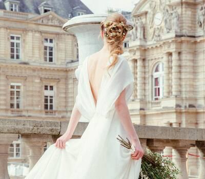 Robe de mariée Odile Léonard 2017