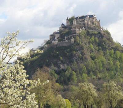 Beispiel: Burgansicht, Foto: Burg Hochosterwitz.