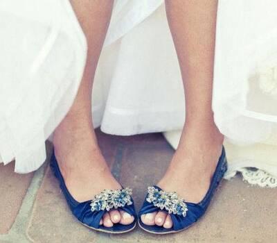 Beispiel: Individuelle Schuhmode für die Braut, Foto: Gwendolina - Schöne Schuhe für die Braut.