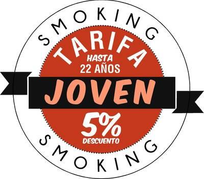 Promoción smoking para menores de 22 años