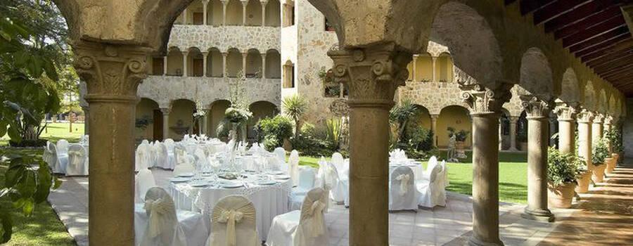 Boda en el hotel Quinta Real de Aguascalientes