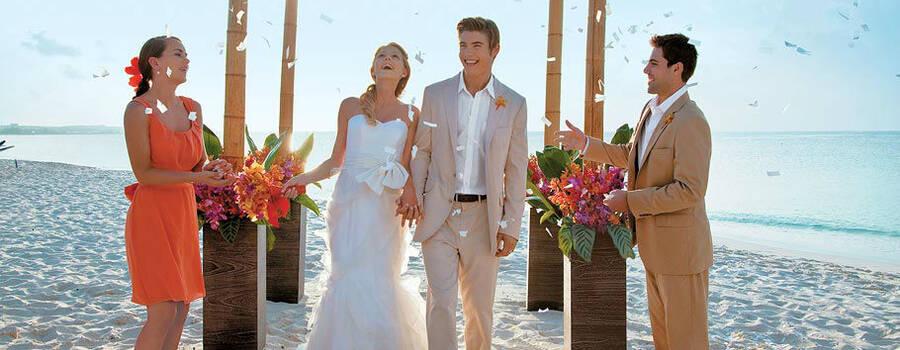 Beispiel: Hochzeit, Foto: Sandals Resorts International.