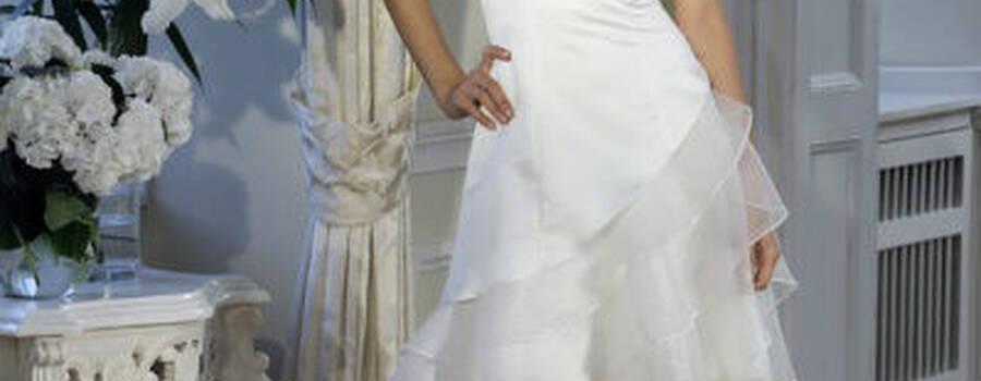 Beispiel: Mode für Bräute, Foto: Bea's Brautmode.