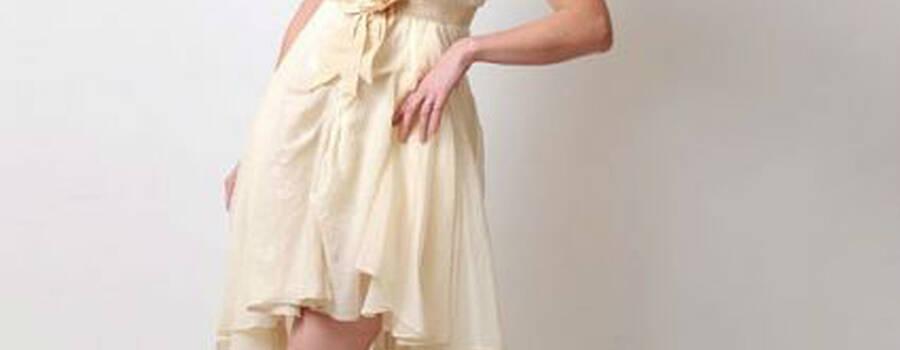 Robe tissus vintage