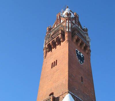 Beispiel: Außenansicht, Foto: Grunewaldturm.