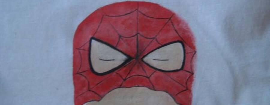 Camisetas de superhéroes. Pintadas a mano, en las tallas que necesites ( regalo especial para niños invitados)