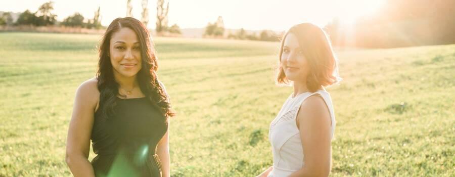 Shine Bright Team - Mayerling & Jeanine Foto von Andrea Kühnis