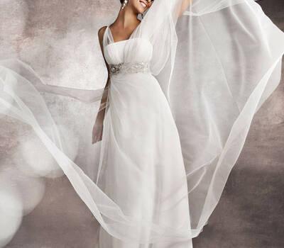 Beispiel: Märchenhaftes Brautkleid, Foto: Brautstudio Schak.
