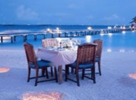 Jantar á Beira Mar