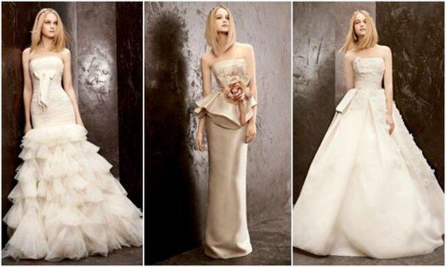 Vestidos de novia de Vera Wang a precios low cost