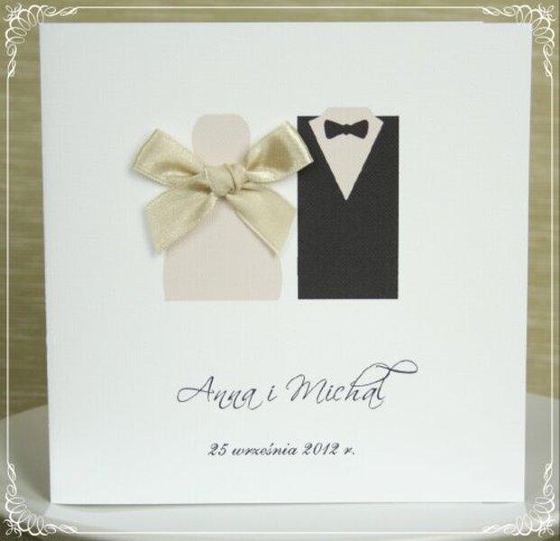 Zaproszenie ślubne z kolekcji So Sweet, cena: 4zł