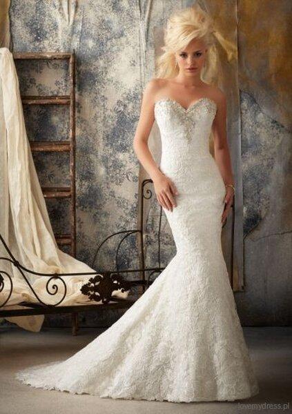 Suknia ślubna Mori Lee 2913, model: 1911