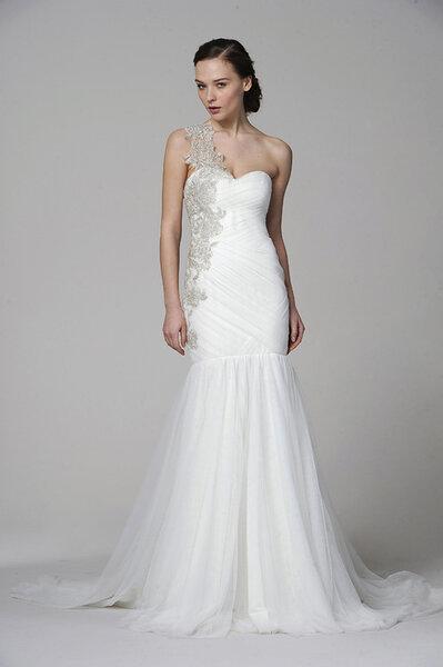 Marchesa trouwjurk 2013