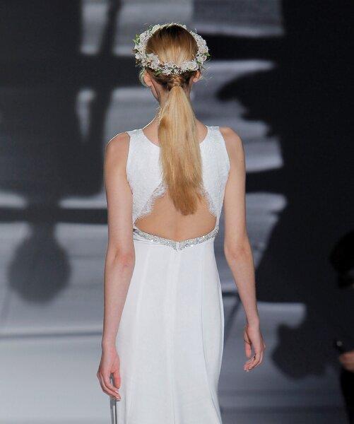Peinados de novia con coleta 2017.