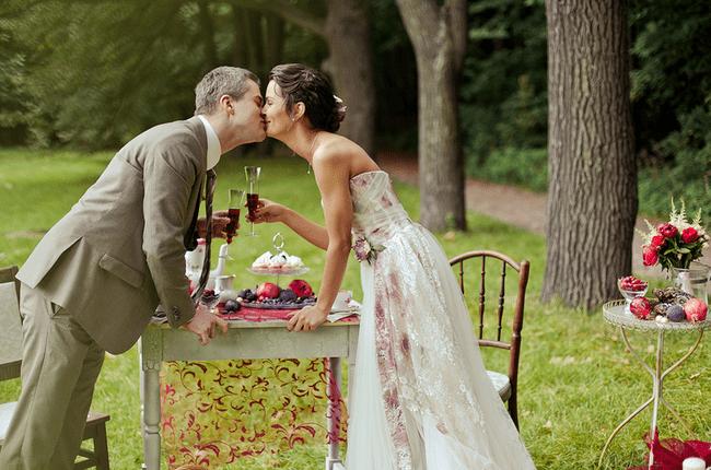 Фотосессия свадьбы в москве