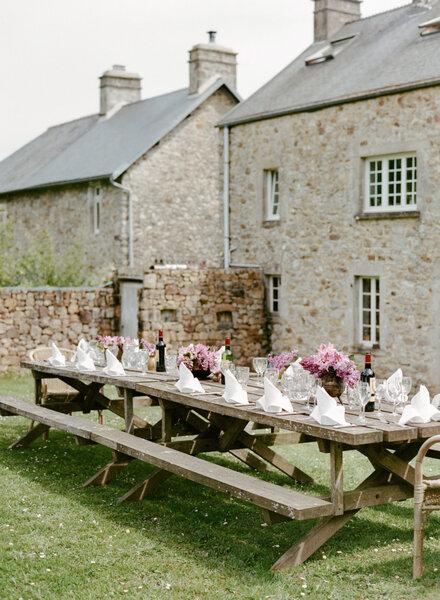 30 hermosos montajes de boda para una recepci n al aire - Provence mobiliario ...