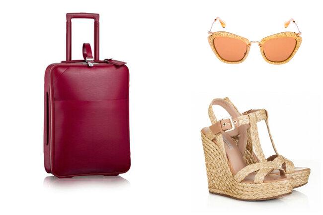 Les indispensables à mettre dans votre valise pour votre lune de miel.