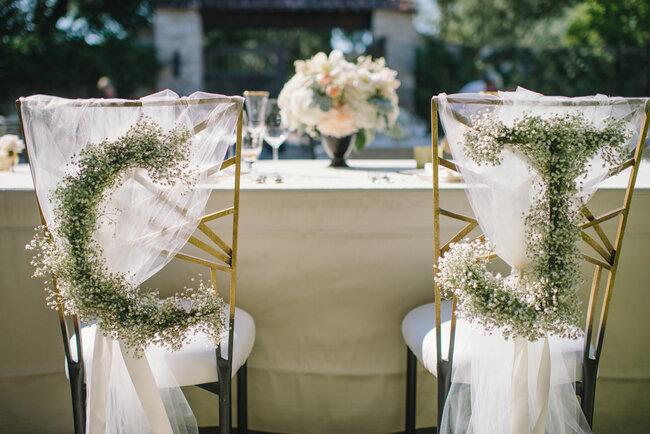 29 ideias LINDAS para decorar as cadeiras do casamento em 2016 Image: 1